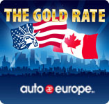 Auto Europe Gold Rate Offers
