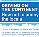 Car Hire - Driving on the continent